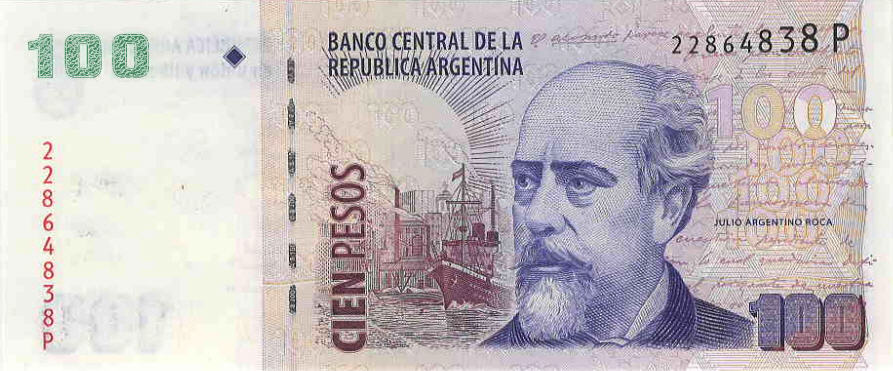 P357 Argentina 100 Pesos Year ND