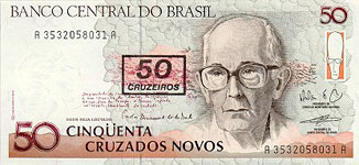 20.00 Euro - Brasil P223 Bundle of 100 pieces