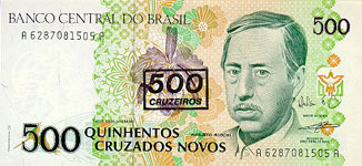 35.00 Euro - Brasil P226 Bundle of 100 pieces