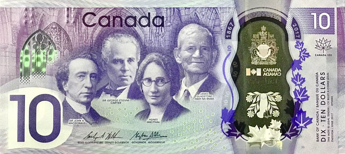 P112 Canada 10 Dollars Year 2017 (Comm.)