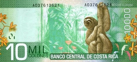 P277 Costa Rica 10000 Colones Year 2009