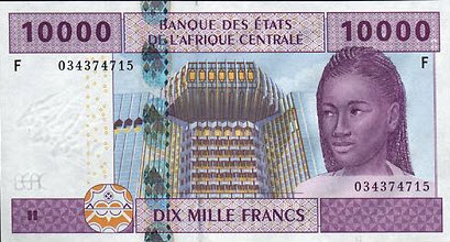 P510 Fb Equatorial Guinea 10000 Francs 2002 New Signature