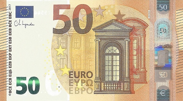 P29UC European Union 50 Euro (2017-Lagarde)