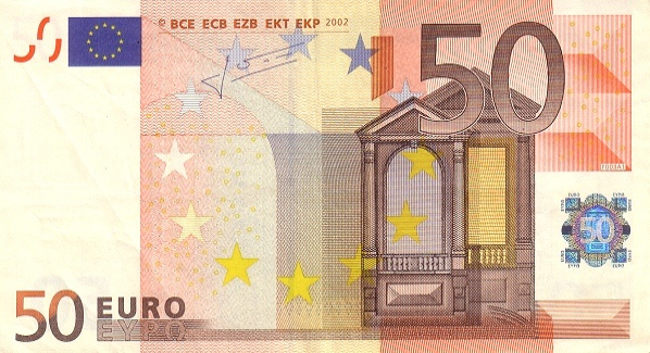 P11P European Union 50 Euro Year 2002 (P-Trichet)