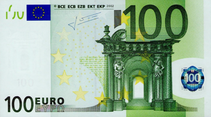 (267) European Union P12 - 100 Euro Year 2002 (S) (Trichet)