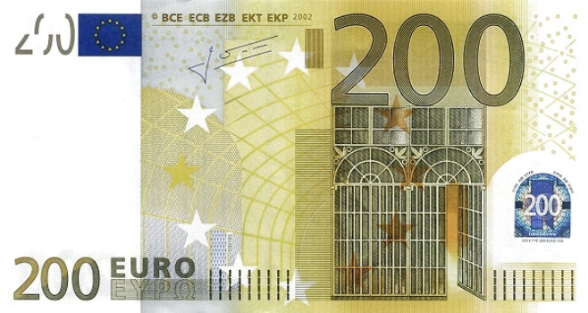 (218X) European Union P13X - 500 Euro Year 2002 (Trichet)