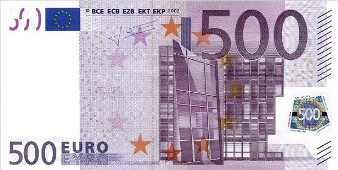 (219N) European Union P14N - 500 Euro Year 2002 (Trichet)