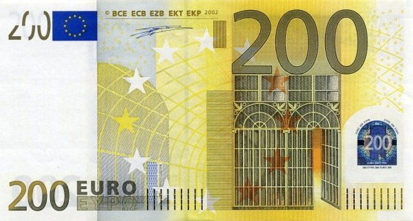 (268) European Union P6 - 200 Euro Year 2002 (X) (Duisenberg)