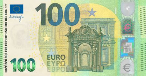 (229) ** PNew European Union 100 Euro Year 2019