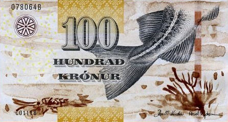 P30 Faeroe Islands 100 Kronur