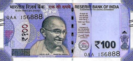 (409) ** PNew India 100 Rupees Year 2018