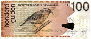 P31f/g Netherlands Antilles 100 Gulden Year 2012/2013