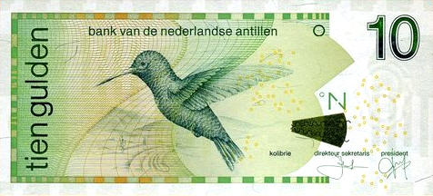P28 Netherlands Antilles 10 Gulden 1.6.2011 (New Variety)