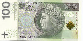 P186 Poland 100 Zlotych Year 2012 (2014)