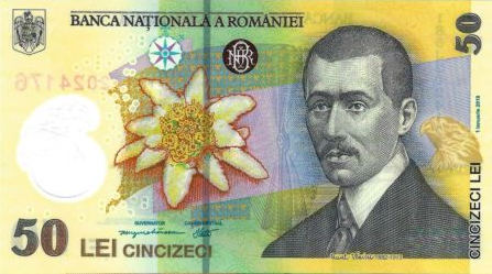 (340) Romania P120h - 50 Lei Year 2018