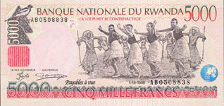 * Special offer Rwanda 3 notes P26 P27 P28