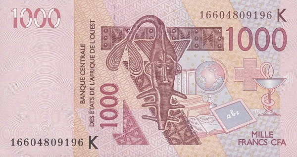 (162) Senegal W.A.S. K P715Kp - 1000 Francs Year 2016