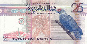 P37 Seychelles 25 Rupees Year nd