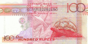 P40 Seychelles 100 Rupees Year nd
