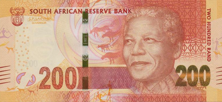 (246) South Africa P142b - 200 Rand Year 2016