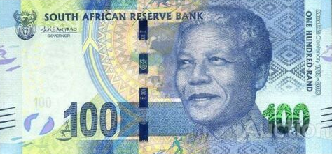 P146 South Africa 100 Rand Year 2018 (Comm.)