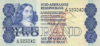 P118a/e South Africa 2 Rand Year nd