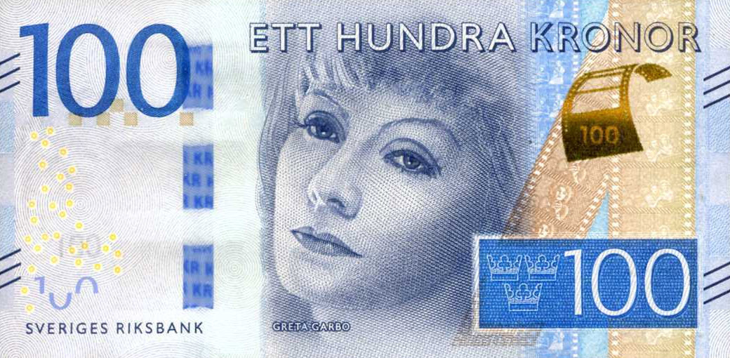 P71 Sweden 100 Kronur Year 2016