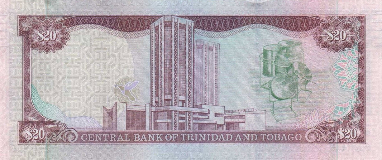P49 Trinidad & Tobago 20 Dollars Year 2006