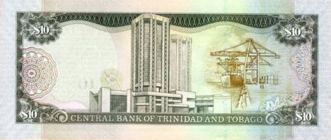 P48 Trinidad & Tobago 10 Dollars Year 2006