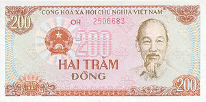 34.00 Euro - Vietnam P100 Bundle of 100 pieces