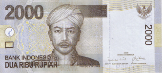 P148a Indonesia 2000 Rupiah year 2009