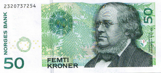 P46d Norway 50 Kroner year 2008