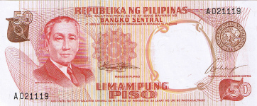 P146a Philippines 50 Piso Year nd