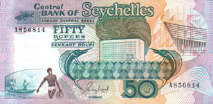P34 Seychelles 50 Rupees Year nd