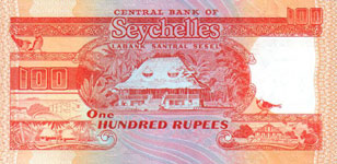 P35 Seychelles 100 Rupees Year nd