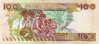 P30 Solomon Islands 100 Dollars year nd (2006)