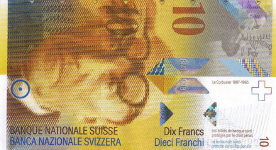 P67a Switzerland 10 Franken Year 1995/2000