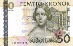 P67 Sweden 50 Kronur year 2004
