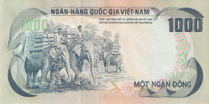 P 34South Vietnam 1000 Dong year nd